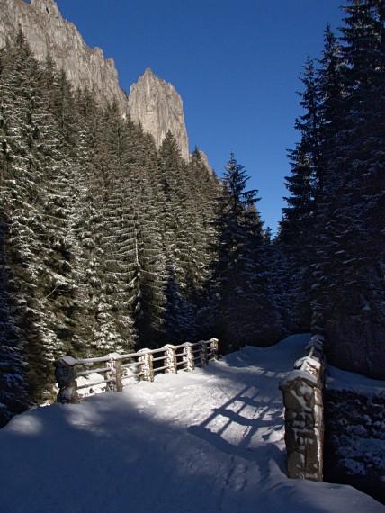 Most na Kościeliskim Potoku