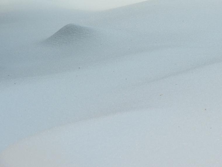 Śnieżne abstrakcje