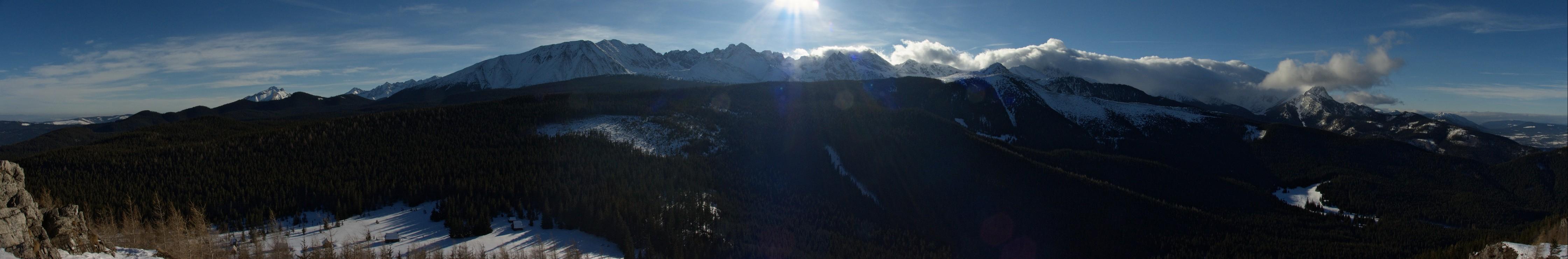 Panorama z Wielkiego Kopieńca