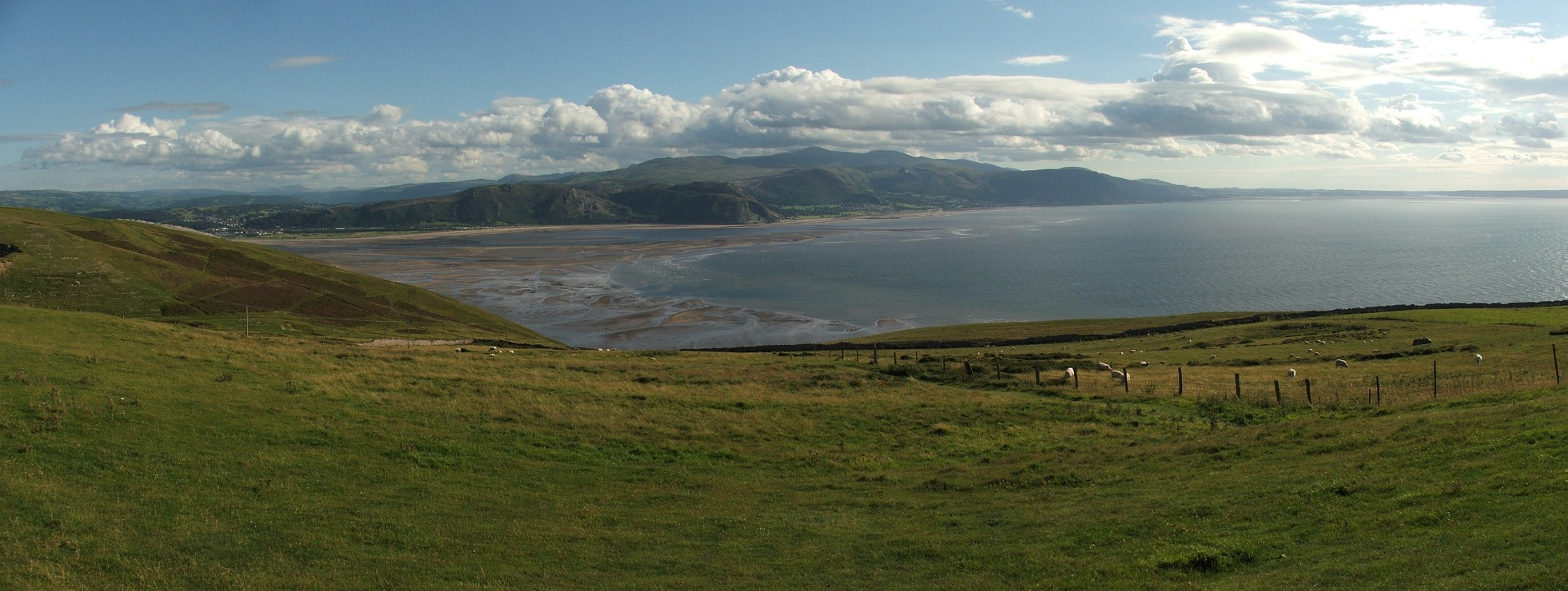 Panorama z Great Orme's Head