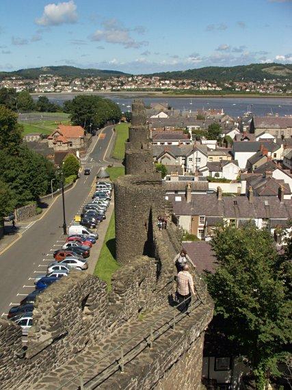 Conwy - mury obronne