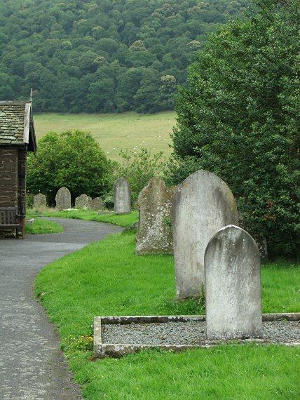 Cmentarz i kaplica w Stokesay
