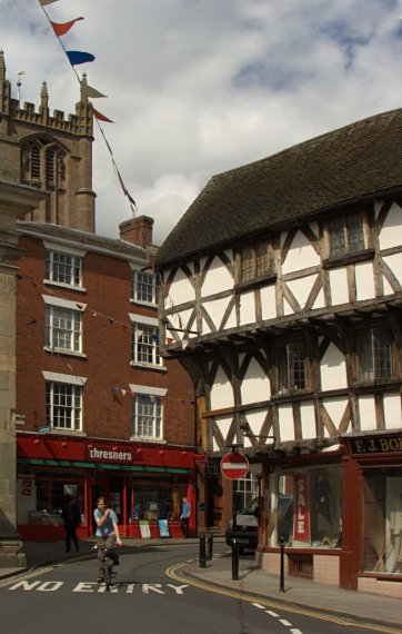 High Street w Ludlow