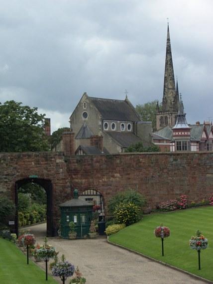 Alejka prowadząca do Shrewsbury Castle