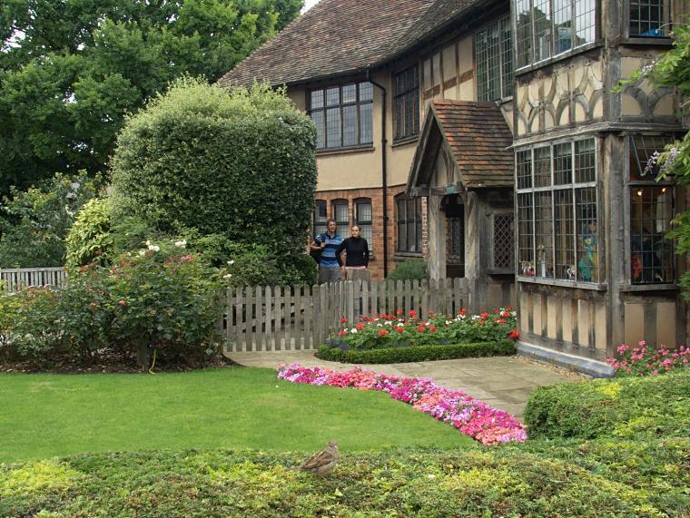 Tuż obok miejsca narodzin Williama Shakespeare'a w Stratford-upon-Avon