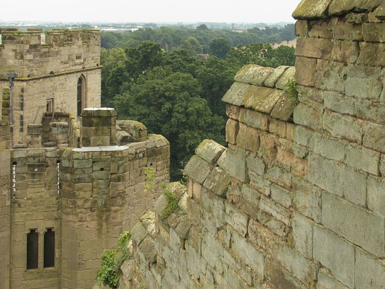 Mury obronne Warwick Castle