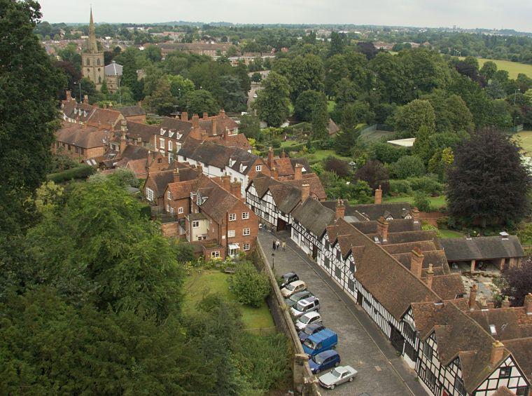 Widok na miasto Warwick