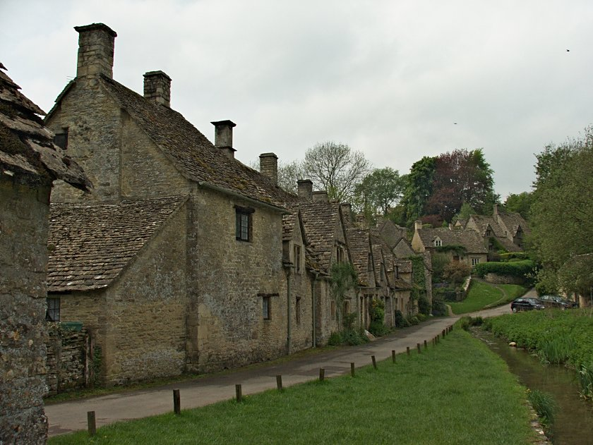 Costwold Hills - Bibury - Arlington Row