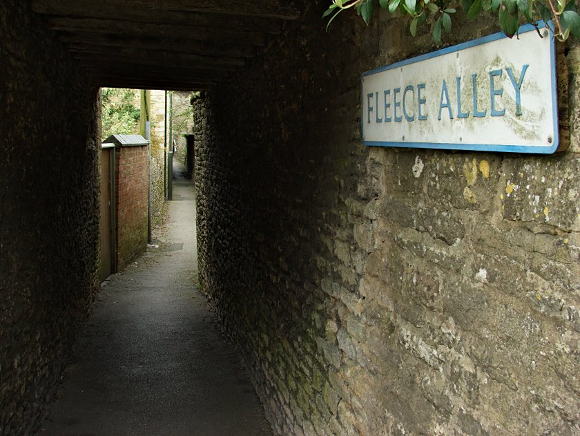 Costwold Hills - Stow-on-the-Wold - Fleece Alley