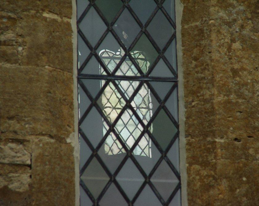 Costwold Hills - Bibury - detal St Mary's Church