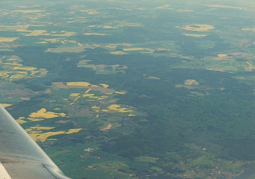 Ziemia z lotu ptaka/powietrza